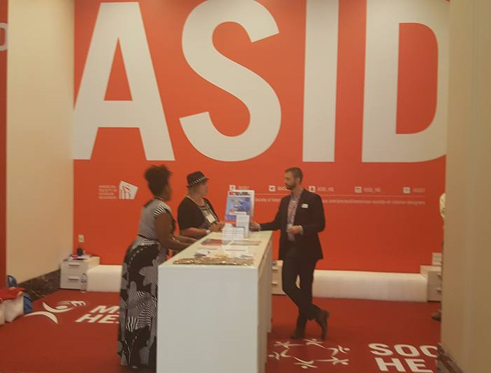 ASID booth at NeoCon