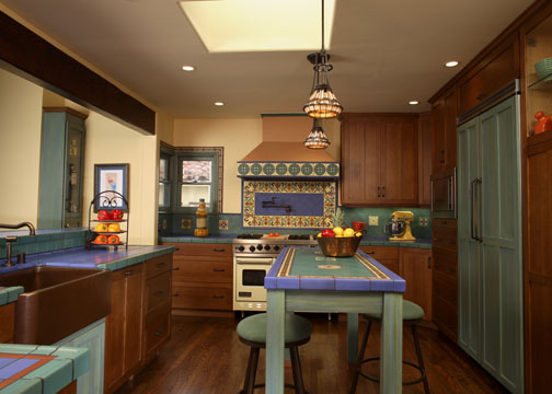 Spanish Bungalow Kitchen