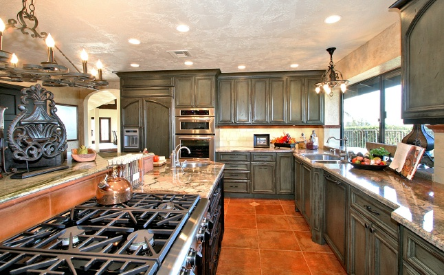 Stunning spanish style kitchen with a california twist for California style kitchen