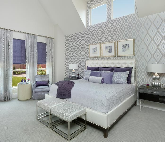 Dallas Contemporary Master Bedroom