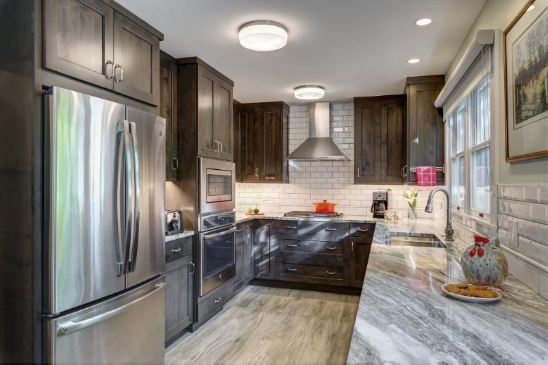 Transitional Transformation in Western Springs Kitchen 1