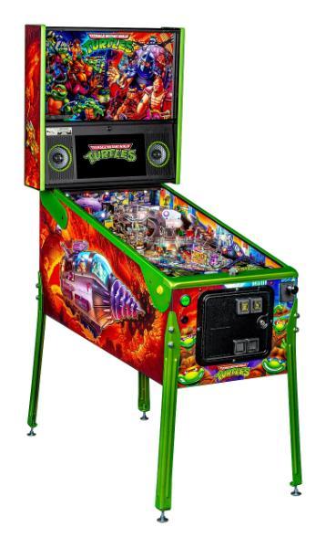 TMNT LE Pinball Machine