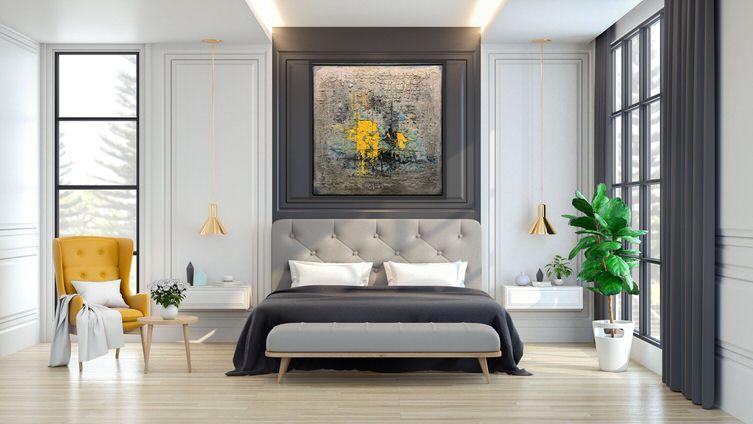 Bedroom Featuring Alvaro Blancarte